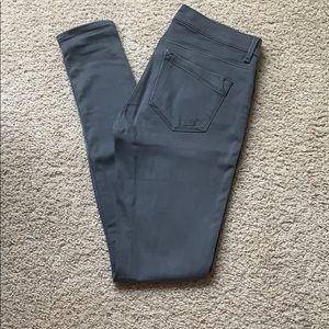 Express Gray Skin Jeans Size 4L